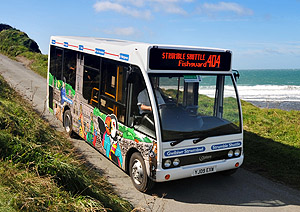 Coastal Buses, brilliant for the Pembrokeshire Coastal Path